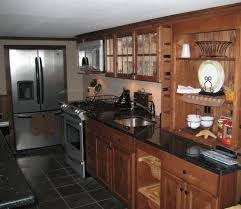 fresh rustic galley kitchen designs 117