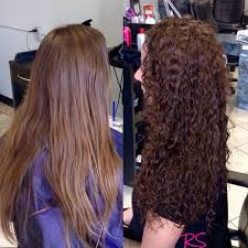 perms for fine hair before and after wash and wear perm my hair pinterest perm perms and perm