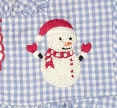 sweet dreams boy s snowman pajamas in blue gingham