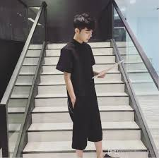 mens jumpsuit fashion 2018 hip hop mens jumpsuit fashion black rompers back zipper