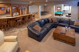excellent finished basement bar lounge game room pool table