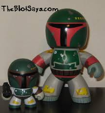 spirit halloween boba fett the blot says star wars mini mighty muggs toy review