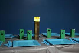 Minecraft Table Decorations Minecraft Party Ii U2013 Mrsmouthy U0027s Weblog