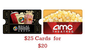 theater gift cards staples deal 25 theater gift card for 20 southern savers