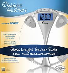 Talking Bathroom Scales Walmart by Amazon Com Weight Watchers By Conair Glass Memory Electronic