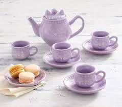 tea set ceramic tea set pottery barn kids