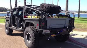 jeep snorkel exhaust hummer h1 hmmwv humvee custom youtube