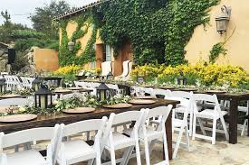 table and chair rentals san diego farm table rentals in san diego