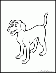 dog coloring book kids coloring