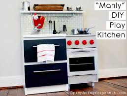 diy play kitchen ideas ethan s manly diy play kitchen