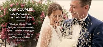 online registry wedding wedding registry by wedding list co australia s leading online