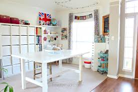 Craft Room Tables - craft room reveal taylormade