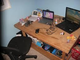 my desk game setup in my room as of may 2015 by gamertttebrony
