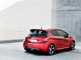 peugeot 208 red peugeot 208 gti 2013 review