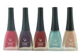 golden rose matte nail polish set of 5 set 03 health and beauty