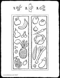 fruit colouring pages kiddi kleurprenten