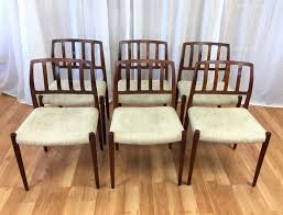 Rosewood Dining Room by Set Of Six Niels Møller U201cmodel 83 U201d Rosewood Dining Chairs For J L