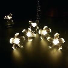 led string lights amazon flower string lights solar fairy led garden garland holiday party