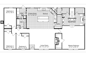 Floor Plans For Trailer Homes The Magnum Home Ml30664m Manufactured Home Floor Plan Or Modular