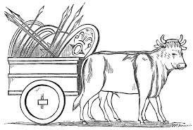 file psm v18 d470 ancient roman farm kart and oxen jpg wikimedia