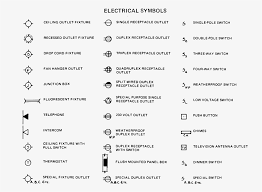 house plan symbols fascinating electrical symbols for house plans contemporary