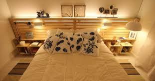 chambre palette beau faire des meubles en palettes 11 un meuble en palette