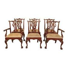 Chippendale Dining Room Furniture Vintage Used Chippendale Dining Chairs Chairish