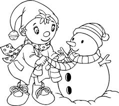 Coloriage Noel ouioui à imprimer