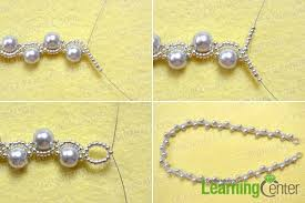 necklace pearls ribbon images Skillful ideas how to make pearl necklace simple ol jewelry diy on jpg