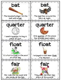 multiple meaning words memory aligned with common core standards