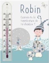 thermometre chambre b thermomètre chambre enfant thermomètre bébé personnalisable