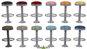 american diner bar stools around the sims 4 custom content download objects american diner