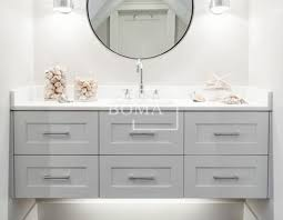 Stand Alone Vanity Wholesale 60 Inch Gorgeous Bathroom White Single Sink Shaker