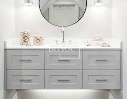 Wholesale 60 Inch Gorgeous Bathroom White Single Sink Shaker
