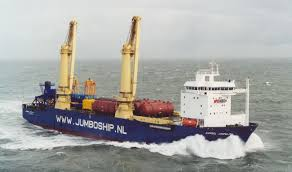 Damen Heavy Lift Vessel 1600 Is Equipped With Two 800 Ton Heavy