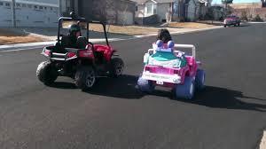 barbie jeep power wheels 24v peg perego polaris ranger rzr vs 24v modified power wheels