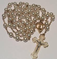 pearl rosary pearl rosary rosaries rosary swarovski swarovski