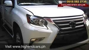 lexus philippines rx 2015 lexus gx460 full options philippines www highendcars ph youtube