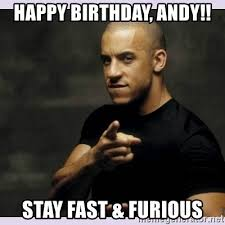 Fast Meme - fast and furious meme generator best pictures happy birthday andy