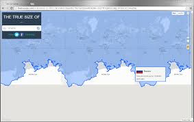 Why Do Western Maps Shrink by The True Size Of Dataisbeautiful