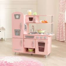 cuisine en bois pour fille cuisine vintage retro 53179 kidkraft jouet bois imitation