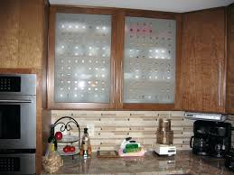 frosted glass for kitchen cabinets white overhead with door