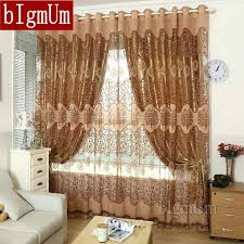 Curtains Set Bigmum European Royal Curtains Pachira Quality Burnt Out Screens