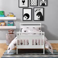 Toddler Bed White Dorel Living Baby Relax Sleigh Toddler Bed White