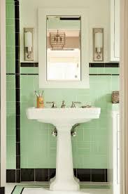 Bathroom Lighting Green Tiles Black 1920s Light Fixtures Best 1920s Bathroom Light Fixtures