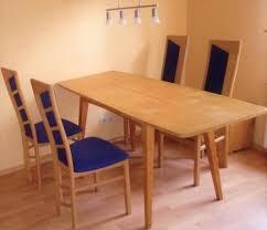 esszimmer buche 4 1 blau buche esstisch stühle esszimmer tisch wohnzimmer essecke
