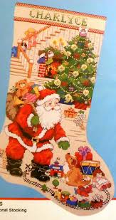 bucilla the best of christmas stocking counted cross stitch