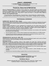Financial Analyst Job Description Resume corporate resume format sample corporate resume format resume