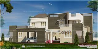 contemporary house plans flat roof