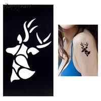elk tattoos price comparison buy cheapest elk tattoos on dhgate com